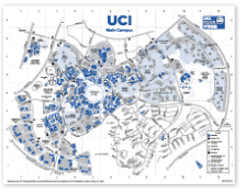 uci main campus map Uci Transportation And Distribution Services uci main campus map