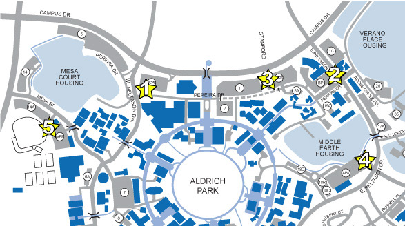 Uci transportation and distribution services for Location parking